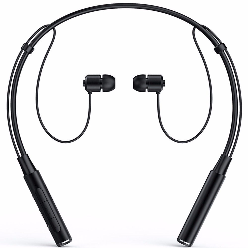 Wireless 4.1 Bluetooth Sport Headphone Neckband In-ear Stereo Earphone with Microphone Sweatproof Hands Free Headset Earbuds Z60 syllable a6 bluetooth 4 1 stereo earphone neckband wireless hifi music headset handsfree sport headphone with microphone