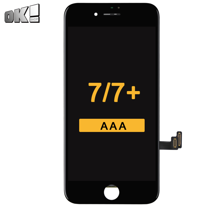 Mobile Phone Replacement Spare Parts For iPhone 7 & 7 Plus LCD Screen Black White With 3D Touch For iPhone 7G & 7P LCD Display