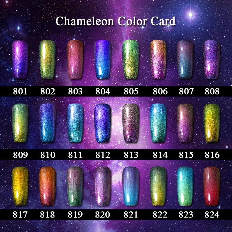 Aliexpress.com : Buy Saviland 1pcs 3D Chameleon Varnish Nail Gel ...
