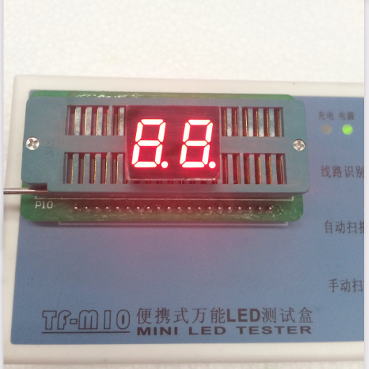 100pc Common Cathode/Common Anode 0.4inch Digital Tube 2 Bit Digital Tube Display Red LED Digital Tube