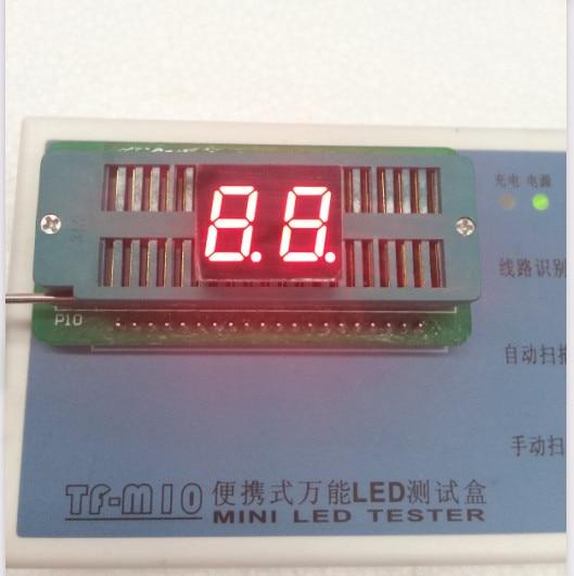 100pc Common Cathode/Common Anode 0.4inch Digital Tube 2 Bit Digital Tube Display Red LED Digital Tube