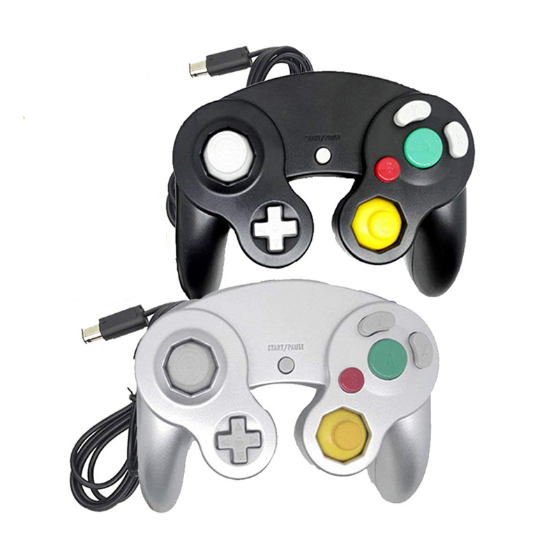 Image 4 - For Gamecube For NGC Controller GC Port PC USB Wired Gamepad Joypad Joystick For Nintendo For MAC Computer-in Gamepads from Consumer Electronics