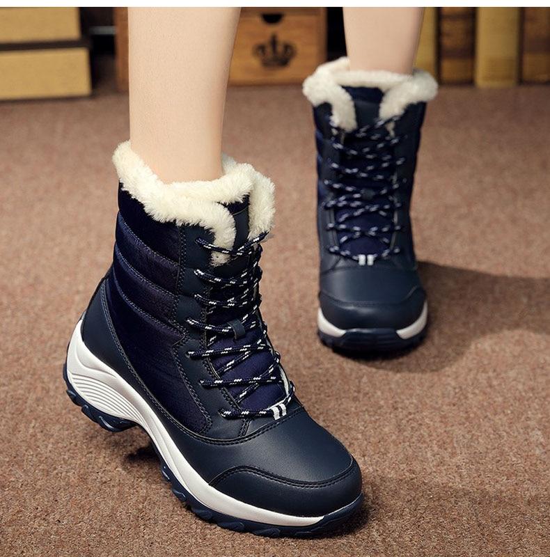 Shop sale cheap Waterproof Winter Shoes Women Snow Warm Ankle Boots