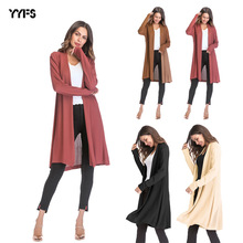 2019 Women's Cardigan Coat Loose Large Size Thin Section Hollow Knit Solid Color Women's Cardigan Coat Women's Clothing 1009 недорого
