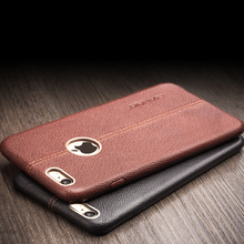 QIALINO Genuine Leather for iphone6 case for iphone 6s case Fashion for iphone6 6s plus cover case 4.7/5.5 inch best phone case