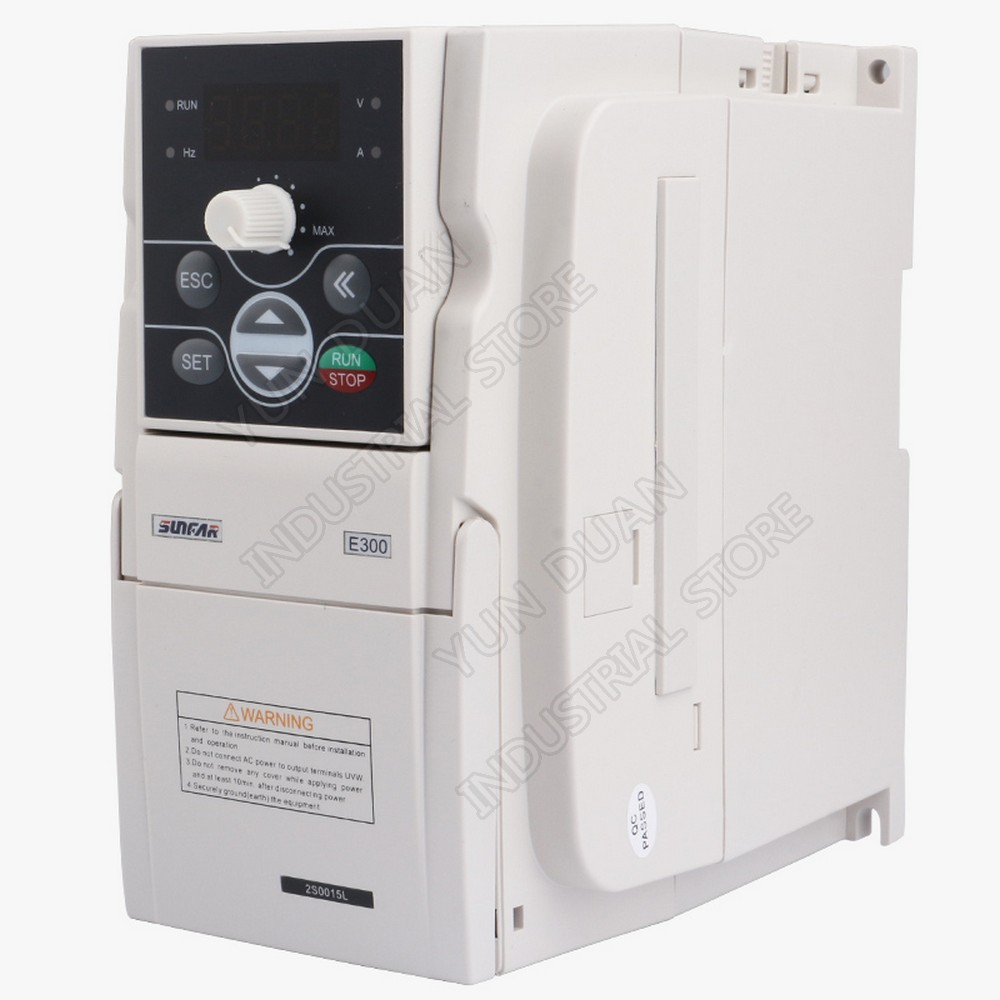 0.75KW 750 W 220 V 1PH 3PH 1000Hz SUNFAR VVV/F SVC convertisseur de fréquence universel contrôleur VFD pour ventilateur de broche de routeur