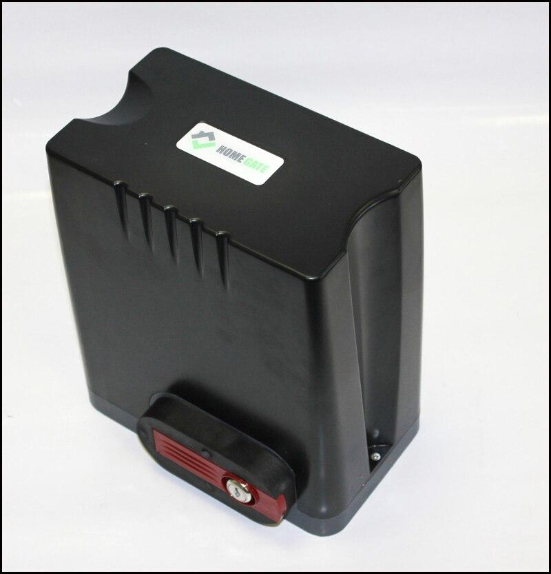 500AC Automático portão deslizante operador/engrenagem do motor para portões residenciais peso 500 kg com racks teclado luz fotocélula Opcional