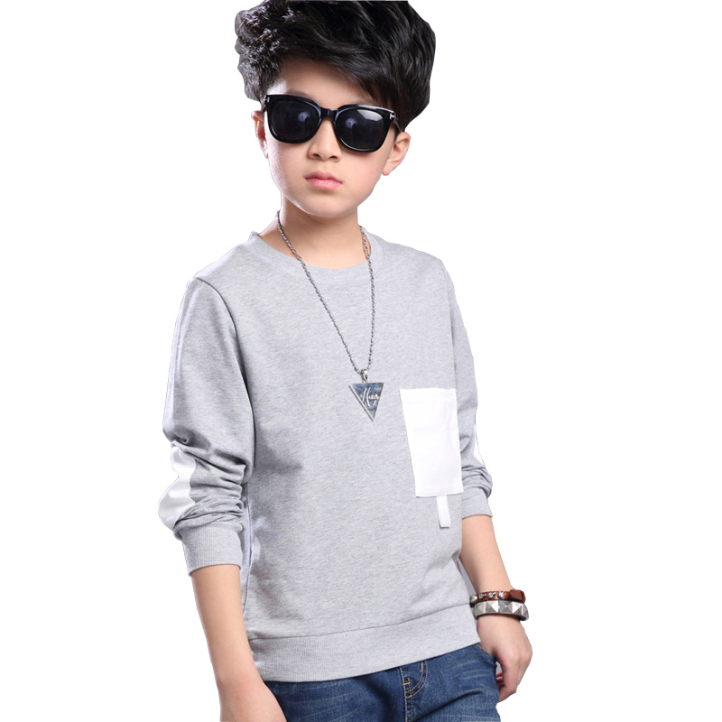 2018 Spring Autumn Childrens Clothing for Boys T-shirts Causal Long Sleeve Teenage Boy T-shirts Casual Kids Tops BC1982018 Spring Autumn Childrens Clothing for Boys T-shirts Causal Long Sleeve Teenage Boy T-shirts Casual Kids Tops BC198