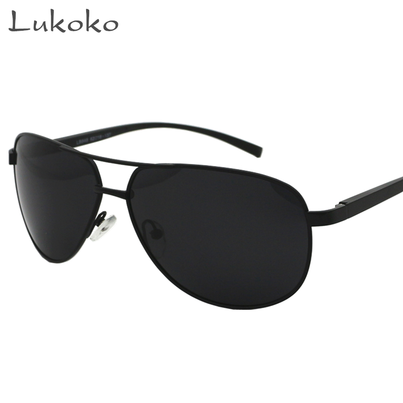 Lukoko Brand Mens Sun Glasses For Men Polarized Aviador Male Driver Polarized Sunglasses Men 2017 Gunes Gozlugu Gozluk Ochki