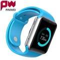 Pinwei bluetooth smart watch smartwatch reloj deportivo reloj de pulsera para android teléfono Con Cámara FM Tarjeta de la Ayuda SIM PK GT08 DZ09 U8