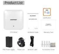Dual Band 2,4 г/5 ГГц закрытый потолочный 2200 Мбит/с 11ac Беспроводной Wi Fi AP точки доступа Wi Fi ретранслятор Extender маршрутизатор с поддержкой PoE адаптер