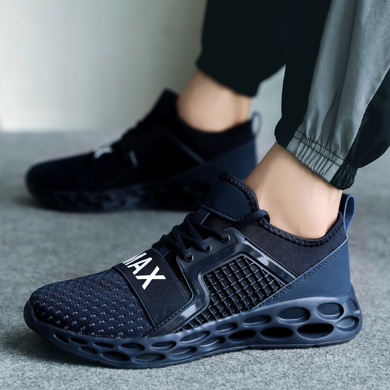 Spring Autumn Men Trainers Shoes Breathable Jogging Zapatos Hombre Tenis Masculino Male Sneakers Casual Footwear Sport Running Men's Casual Shoes Men's Shoes
