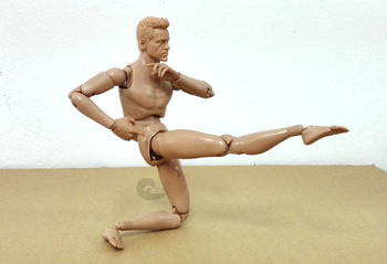 1:6 male model Art Painting Art mannequin modeling human musculoskeletal anatomy model Soldier model