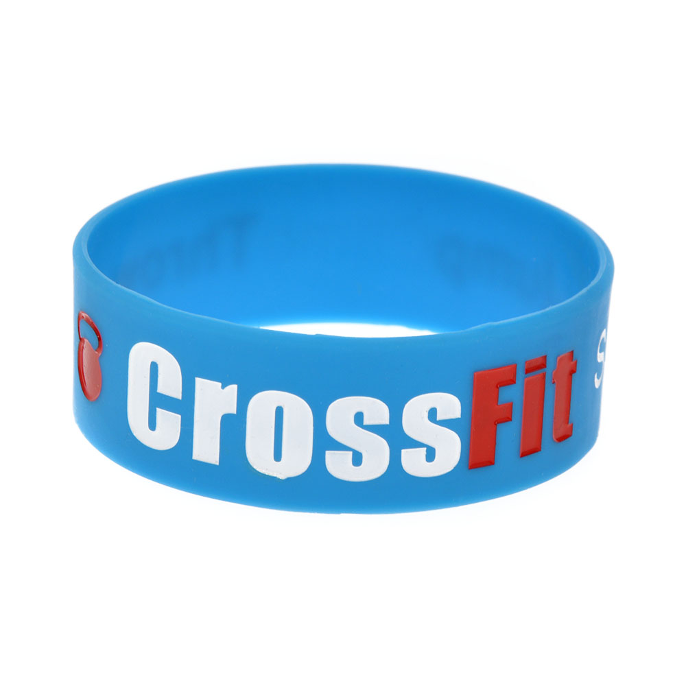 OBH 1PC One Inch Wide CrossFit Squat Jump Climb Throw Lift Pulsera de - Bisutería - foto 3