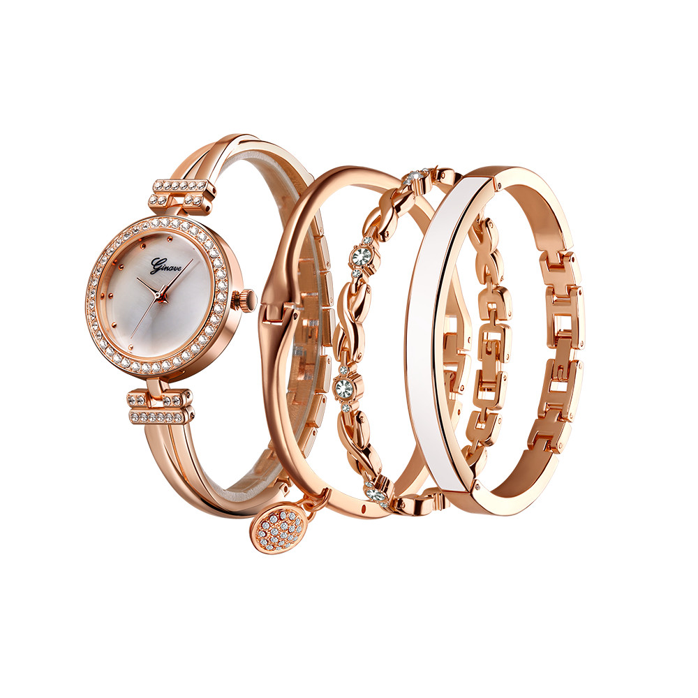2018 Rosefield Watches Women Fashion Ladies Watch Stainless Steel Analog Analog Watch Bracelet New11.17