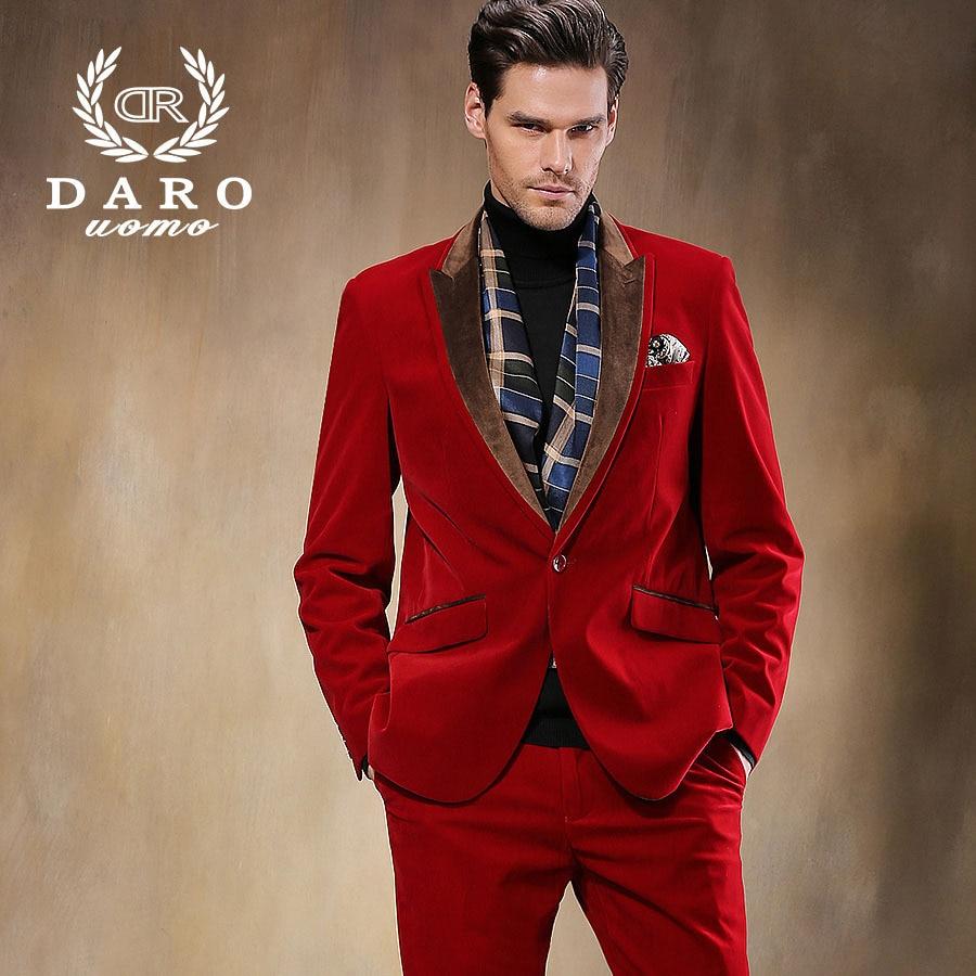 DARO Men's Wedding Suit Jackets Slim Tuxedo Fashion Formal ...