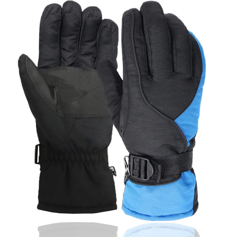 Friendly Winter Skiing Gloves Waterproof Ski Gloves Windproof Snowboard Men Gloves Snowmobile Motorcycle Riding Adjustable Warm Gloves Providing Amenities For The People; Making Life Easier For The Population