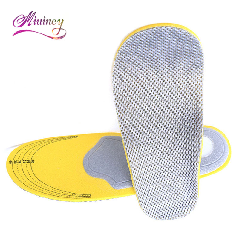 Pair 3D Advanced Comfort Orthopedic Shoes Insole Insert High Arch Support Pad Ms. Men expfoot orthotic arch support shoe pad orthopedic insoles pu insoles for shoes breathable foot pads massage sport insole 045