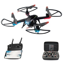 drones 720P HD WiFi Real-Time Transmission quadcopter rc helicopter Six-axis gyroscope One-button Return 360°Roll Over RC Drone