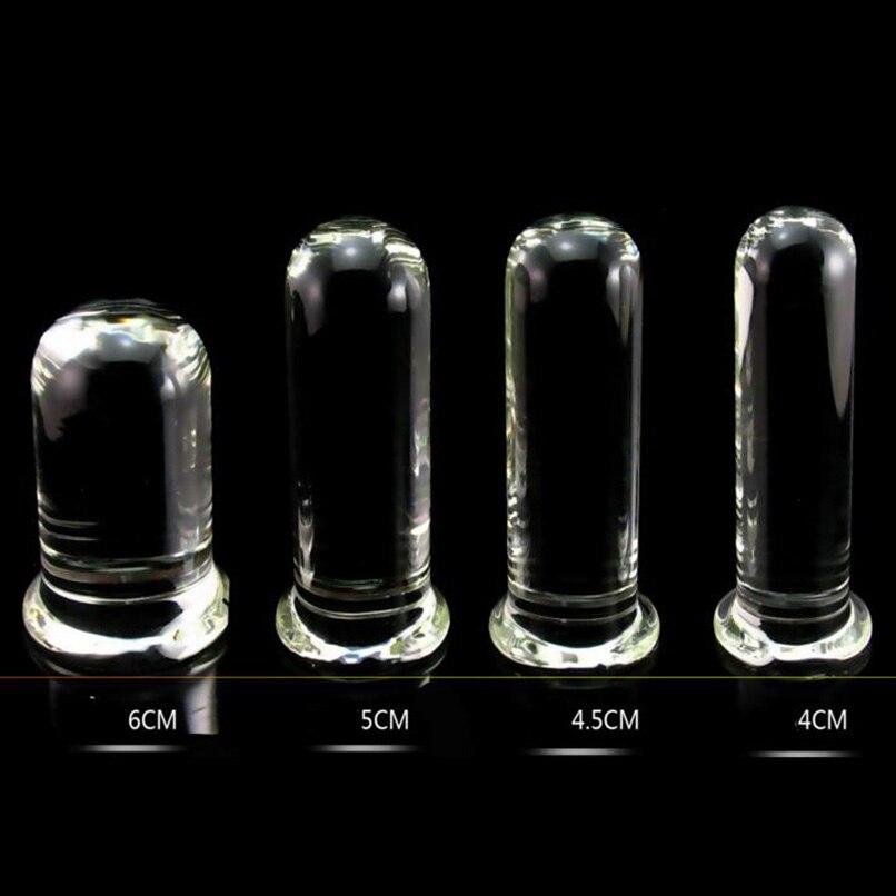 Crylinder Glas Dildo Big Huge Large Glasgeschirr Penis Kristall Anal Plug Frauen Geschlecht Spielt für Frauen g-punkt Stimulator Vergnügen zauberstab