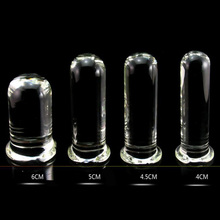 Crylinder Glass Dildo Big Huge Large Glassware Penis Crystal Anal Plug Women Sex Toys for Women G spot Stimulator Pleasure Wand