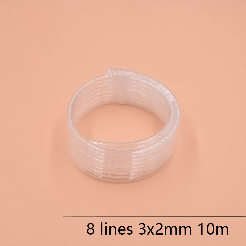 8 Lines eco solvent printer ink tube 3X2MM for Epson Allwin Mimaki Roland Mutoh ink hose 10M/lot Large ink supply ink system ink pump for roland sj640 ra640 re640 re540 fh740 vs300 vs540 vs640 vp300 vp540 xf640 rf640 rfa640 roland ink pump u type