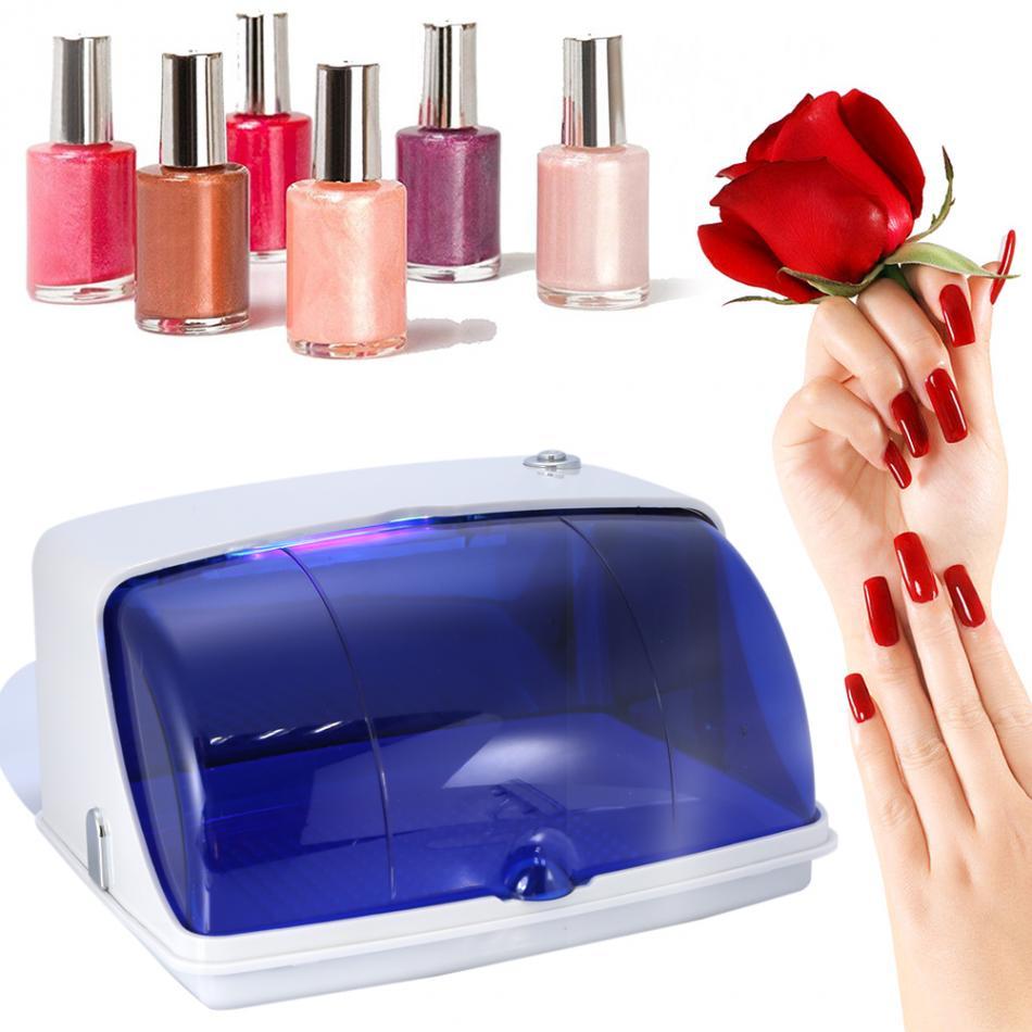YM - 9003 UV Sterilizer Manicure Cleaner Box Sterilizing Nail Tools Disinfection Machine,tools sterilizer.Nail Art Equipment