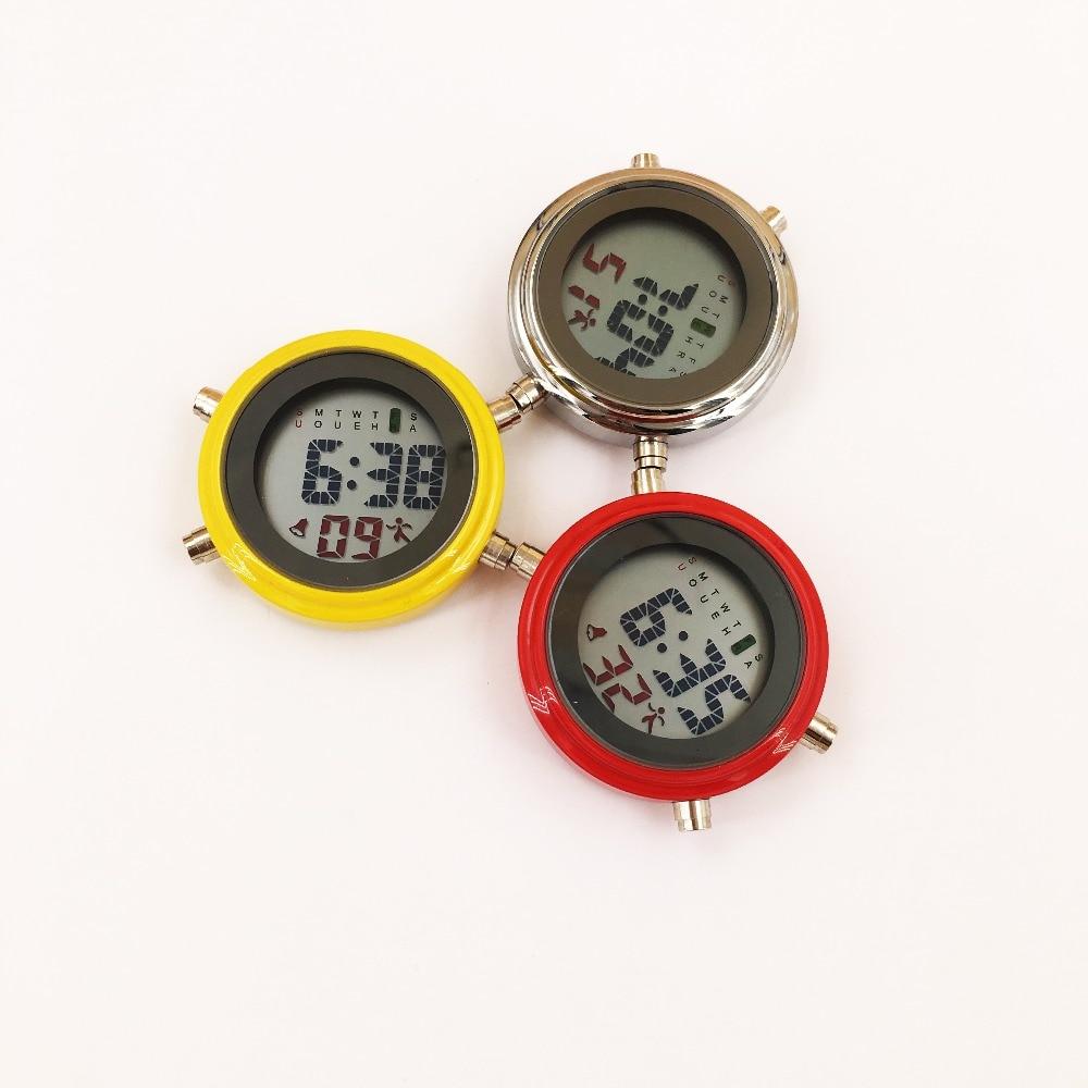 Digital Nurse Watch Fob Pocket Watch Doctor Nurse Time Piece Brooch Lapel Medical Nurse Watch Mini Timer Luminous Watch