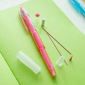 Image 4 - اليابان الطيار الميكانيكية قلم رصاص 0.7 مللي متر HCR 197 اللون الميكانيكية قلم رصاص الرسم 8 اللون 8 قطعة