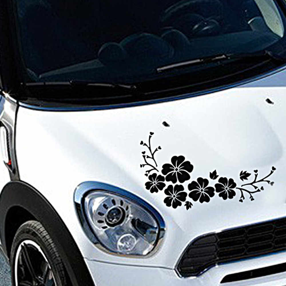 kongyide car stickers Flowers Decal Sticker for Cars,Walls,Laptops, and other stuff car stickers flowers car sticker vinyl