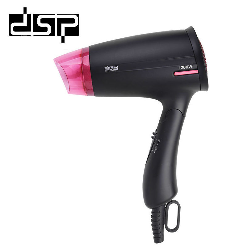 DSP 1200W Electric Professional DC Motor Hair Dryer Foldable Handle Blow For Travel