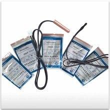 20pcs/lot new Compatible sensor Air Conditioner Tube Sensor temperature sensor thermal head metal 5K10K15K20K50K