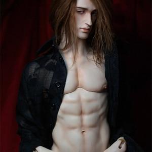 Bjd sd bonecas boneca grant phillippe 44cm1/4 corpo resina modelo renascer bebê meninos olhos de alta qualidade