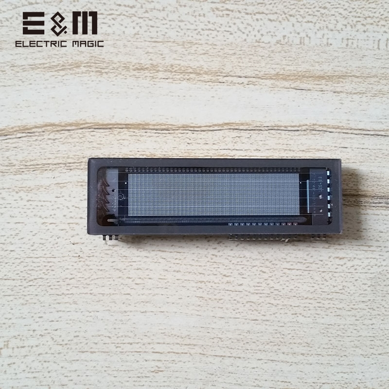 E&M 128*32 VFD Screen Panel SCM Vacuum Fluorescent Display Graphical Dot Matrix Chip Noritake-Itron MN12832L 12832E&M 128*32 VFD Screen Panel SCM Vacuum Fluorescent Display Graphical Dot Matrix Chip Noritake-Itron MN12832L 12832
