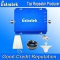 Lintratek GSM 850 MHz 1800 MHz Sinal de Celular Repetidor GSM850 MHz GSM 1800 MHz DCS Repetidor De Sinal Celular Antenas Kit Completo F22