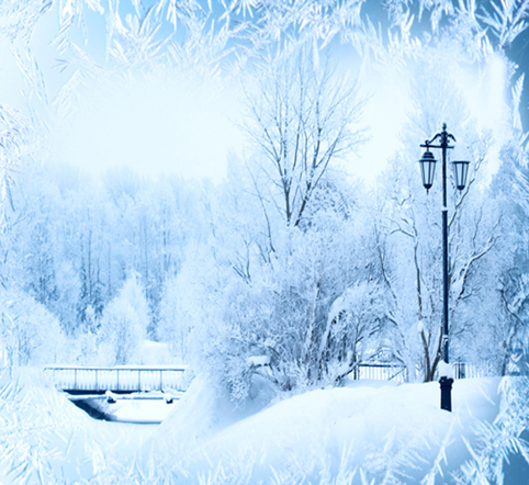 kate photoraphy background christmas snow view winter backdrops for