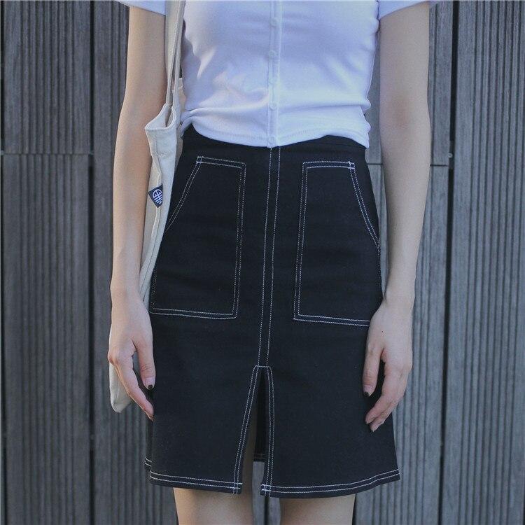 Popular Black Denim Mini Skirt-Buy Cheap Black Denim Mini Skirt ...
