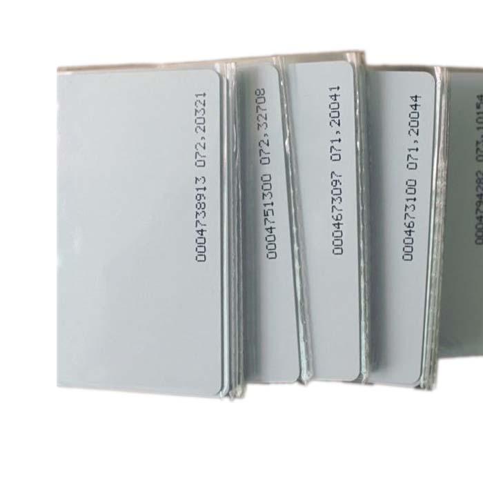125khz em4100 tk4100 rfid cartão de controle de acesso cartão de identificação só lido