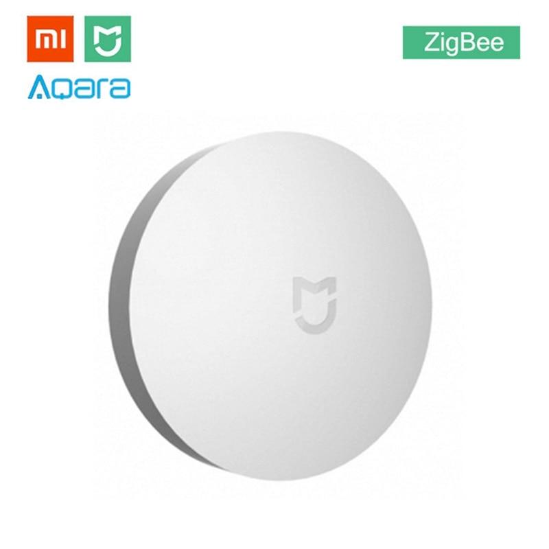 Xiaomi MIJIA Aqara Wireless Switch Mini ZigBee Version With Gyro Smart Home Remote Control Center for Mi Home APP Gateway Hub