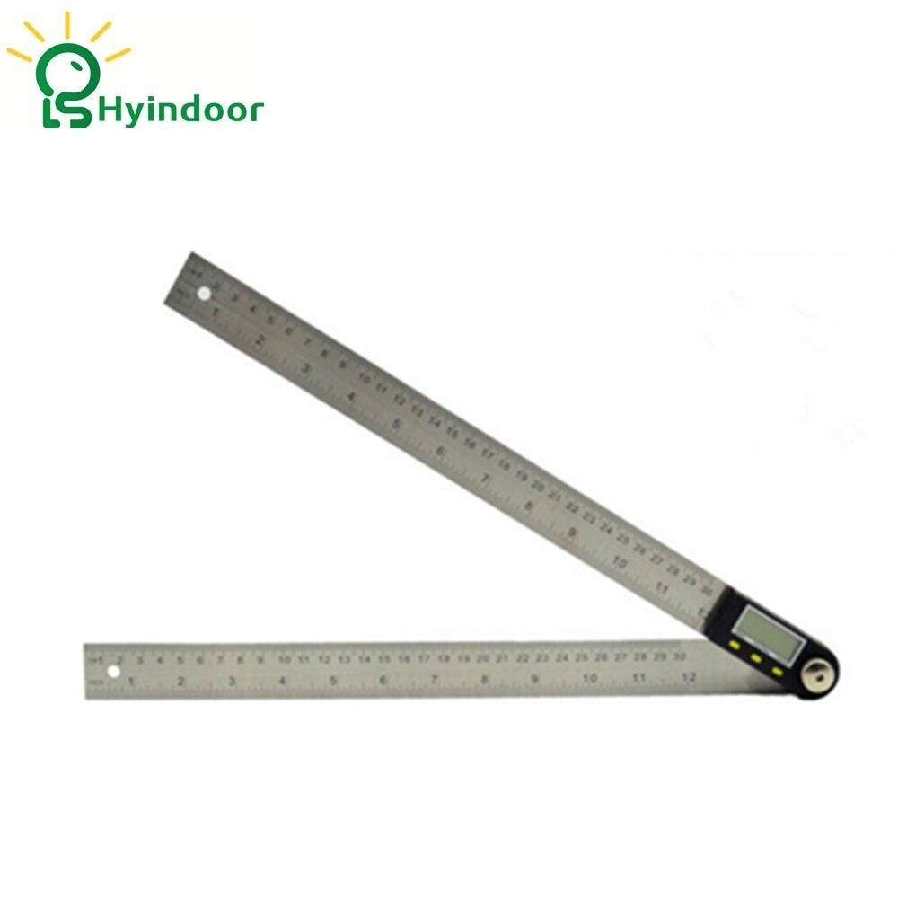 300mm Electronic Protractor LCD Digital Goniometer Angle Finder Gauge Ruler
