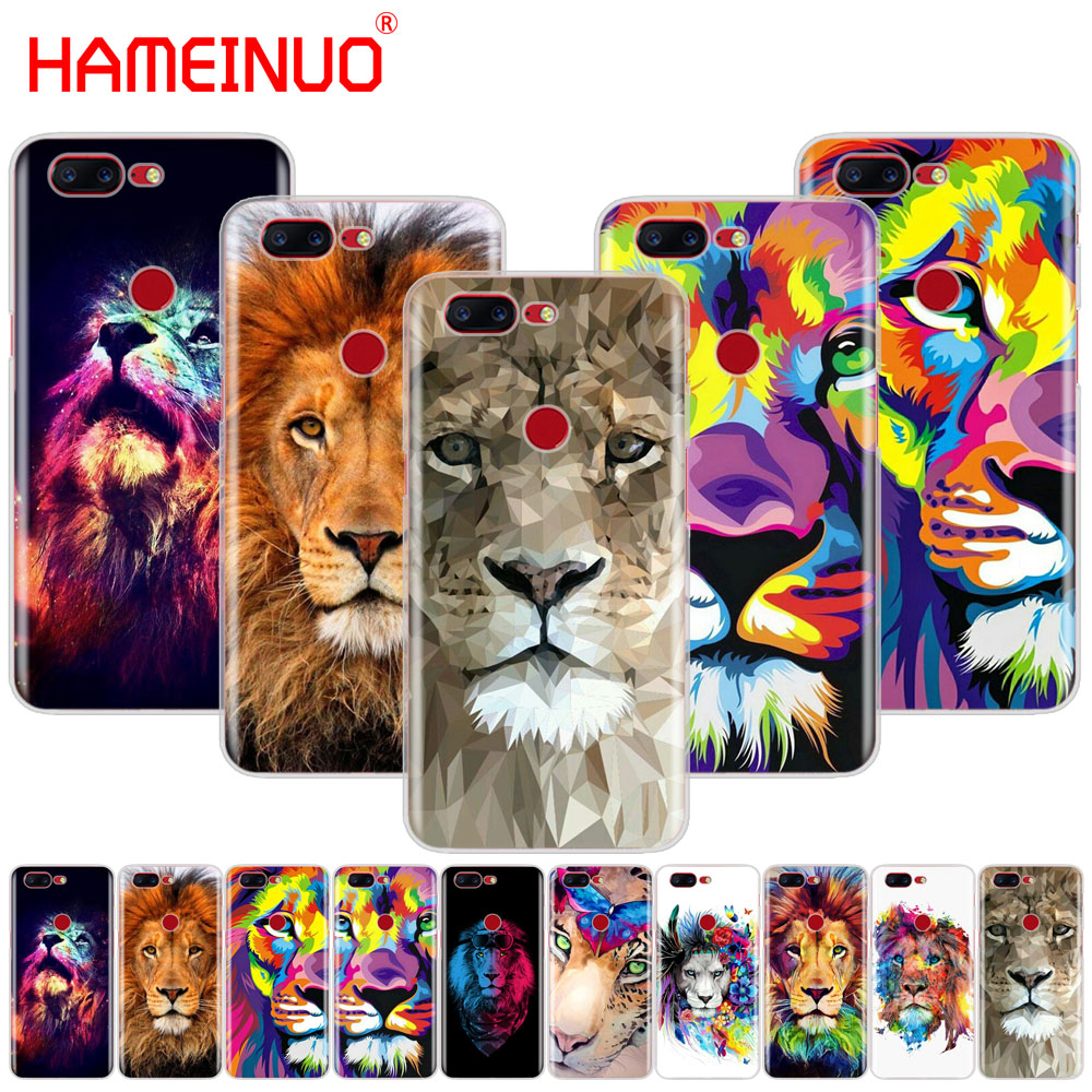HAMEINUO Big Lion On Stone snow cover phone case for Oneplus one plus 5T 5 3 3t 2 X A3000 A5000