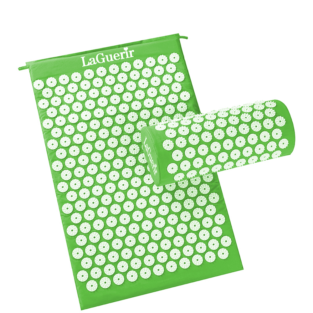 Image 5 - Therapy Acupressure Mat Set Prick Free Acupuncture Mat Shakti Acupuncture Pillow for Relaxation&Pain Relief Massage Mat with Bag-in Massage & Relaxation from Beauty & Health