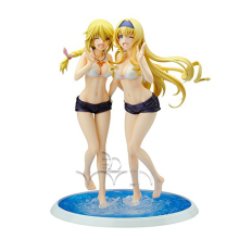 Alter Infinite Stratos: Charlotte & Cecilia Swimsuit PVC Figure Set
