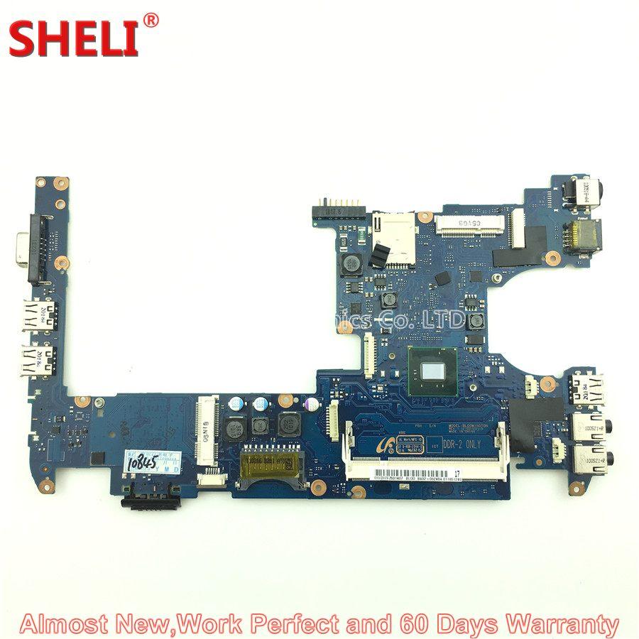 SHELI BA92-06248A BA92-06248B Laptop Motherboard For Samsung NP-N150 N150 BLOOMINGTON BA41-01184A N450 1.66Ghz Main Board Works цена