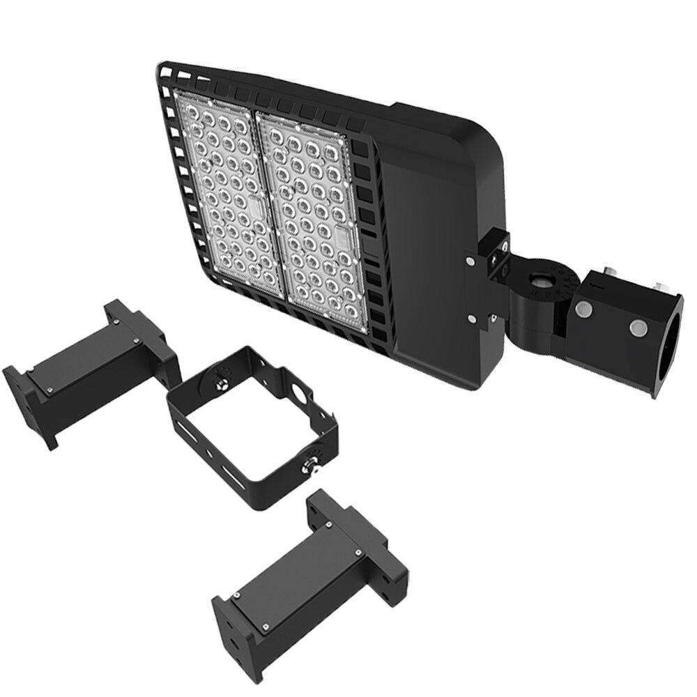 цены new products led shoes street light 150w shoe box light high lumen ip65 warranty 5 years parking lot light