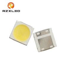 500PCS/Lot LED Edison 2W 6V SMD Flat 3535Package Cold white1