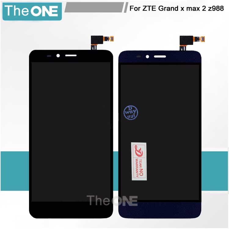 ФОТО For ZTE Grand x max 2 z988 LCD Display+Touch Screen Digitizer Assembly Replacement For ZTE Z988 Cell Phone