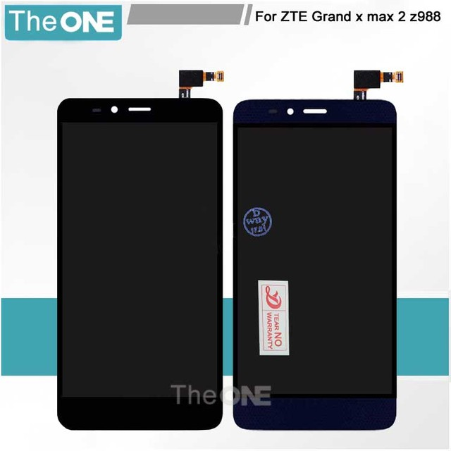 For ZTE Grand x max 2 z988 LCD Display+Touch Screen Digitizer Assembly Replacement For ZTE Z988 Cell Phone