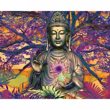 Buddha diamond Embroidery diy painting mosaic diamant 3d cross stitch pictures H672