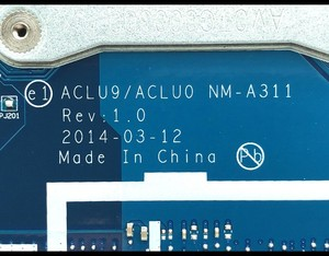 Image 2 - High quality New For Lenovo G50 30 Laptop Motherboard ACLU9/ACLU0 NM A311 FRU:5B20G91619 SR1YW N3540 DDR3 820M 1GB Fully Tested